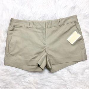 MICHAEL Michael Kors Khaki Dress Shorts